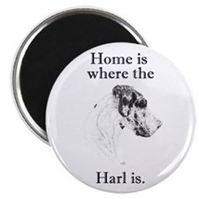 """N Harl Home in dots 2.25"""" Magnet (10 pack)"""