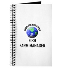 World's Greatest FISH FARM MANAGER Journal
