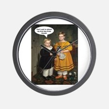 Cute Retro humor Wall Clock