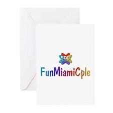 FUNMIAMICPLE Products Greeting Cards (Pk of 10
