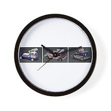 BriSCA Wainman Heat Cars Wall Clock