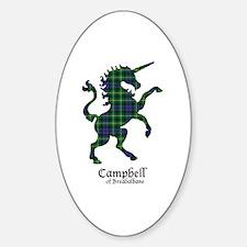 Unicorn-CampbellBreadalbane Sticker (Oval)