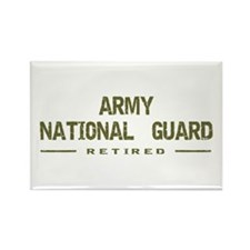 Retired Guard Rectangle Magnet (10 pack)