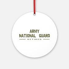 Retired Guard Ornament (Round)