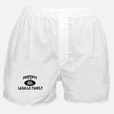 Property of Lasalle Family Boxer Shorts