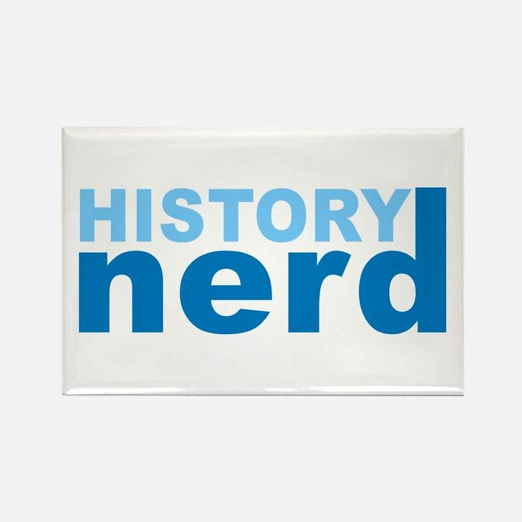 History Nerd Rectangle Magnet