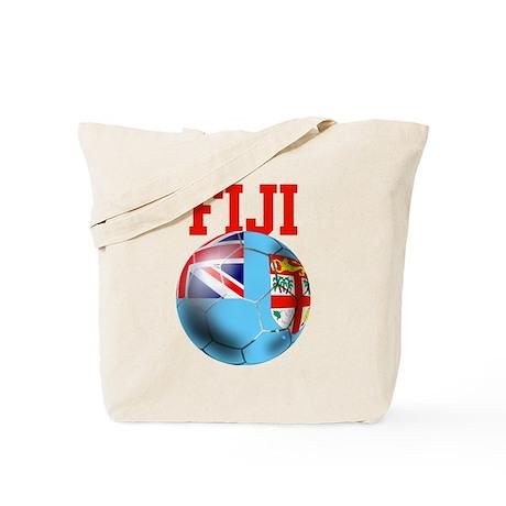Fiji Soccer Tote Bag