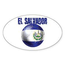 Futbol de El Salvador Decal