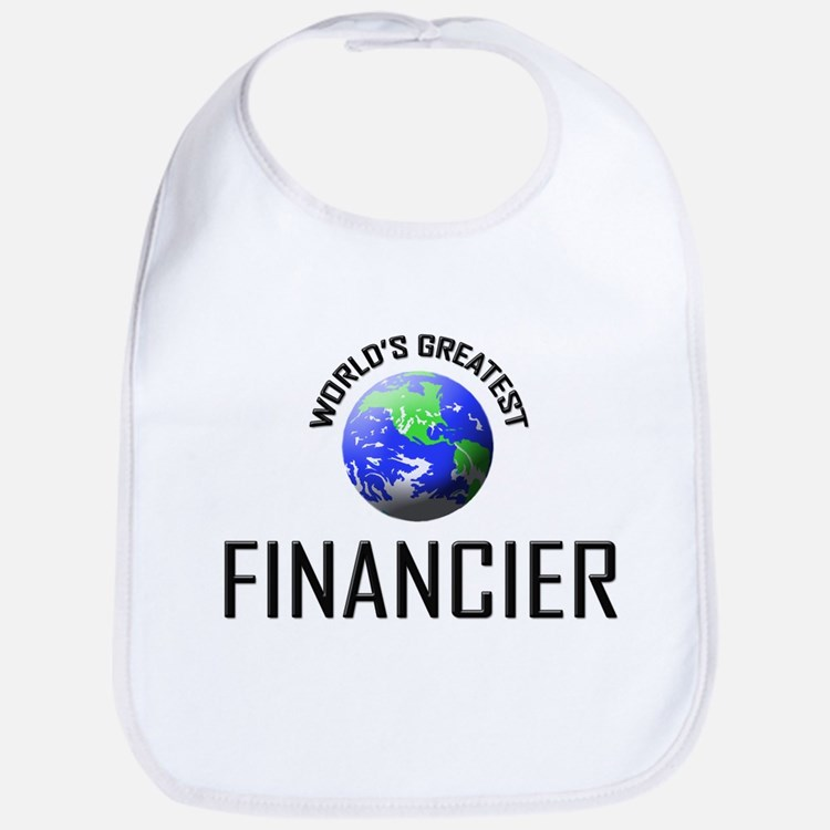 World's Greatest FINANCIER Bib