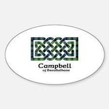 Knot - Campbell of Breadalbane Sticker (Oval)