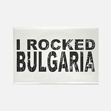 I Rocked Bulgaria Rectangle Magnet