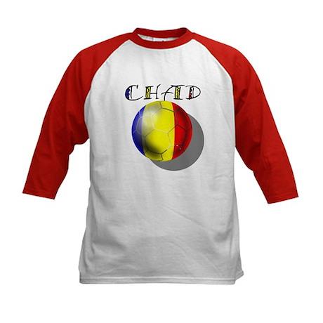 Chad football flag Soccer Kids Baseball Jersey