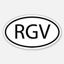 RGV Oval Decal