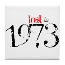 Lost in 1973 Tile Coaster