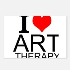 I Love Art Therapy Postcards (Package of 8)