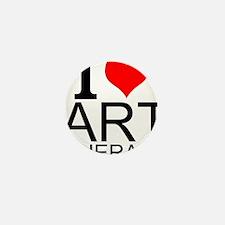 I Love Art Therapy Mini Button