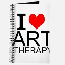 I Love Art Therapy Journal