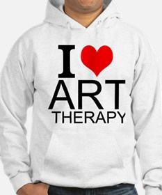 I Love Art Therapy Hoodie