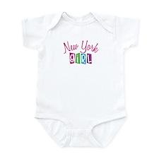 NEW YORK GIRL! Infant Bodysuit