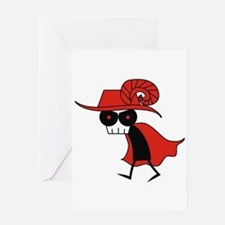 Red Death Greeting Card