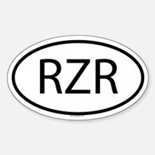 RZR Oval Decal
