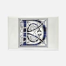 Monogram - Dunlop Rectangle Magnet