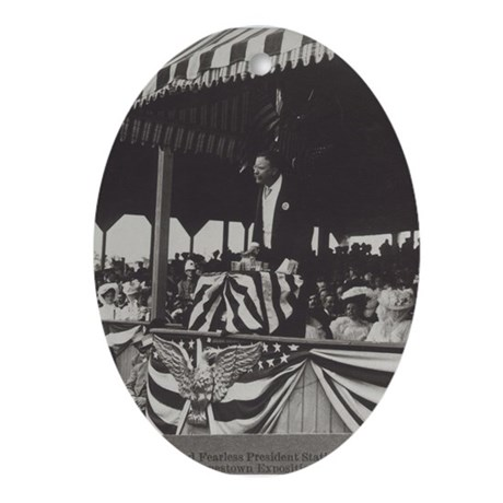 Teddy Roosevelt Keepsake (Oval)