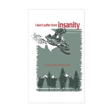 Insanity Rectangle Decal