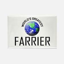 World's Greatest FARRIER Rectangle Magnet