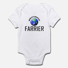 World's Greatest FARRIER Infant Bodysuit