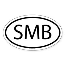 SMB Oval Decal