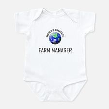 World's Greatest FARM MANAGER Infant Bodysuit