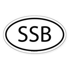 SSB Oval Decal