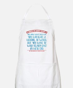 Lead a Herring to Water Apron