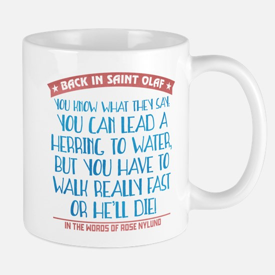 Lead a Herring to Water Mug