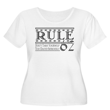 Rule 62 Alcoholism Saying Women's Plus Size Scoop