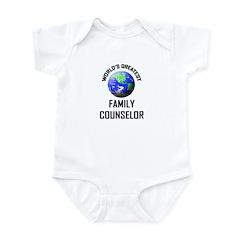 World's Greatest FAMILY COUNSELOR Infant Bodysuit