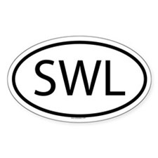 SWL Oval Decal