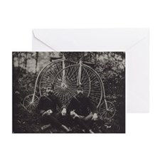 Bicycle Messengers Greeting Cards (Pk of 10)