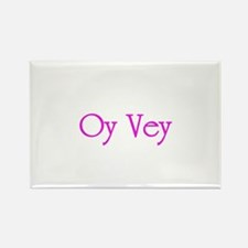 Oy Vey - Rectangle Magnet (100 pack)