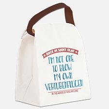 Blow My Own Vertubenflugen Canvas Lunch Bag