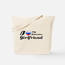 I love my Slovenian Girlfriend Tote Bag