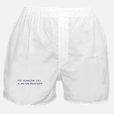 Meter Reader Boxer Shorts