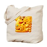 Fiery Maya Jaguar Head Tote Bag
