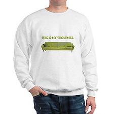 Treadmill Couch Sweatshirt