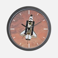 Space Shuttle Endeavour Wall Clock