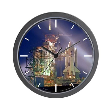 Space Shuttle Columbia Wall Clock