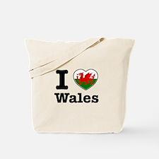 I love Wales Tote Bag