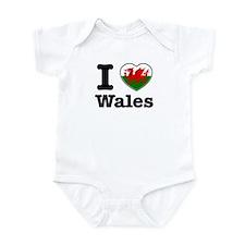 I love Wales Onesie