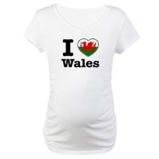 I love Wales Shirt